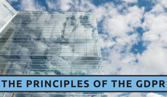 The Principles of the GDPR