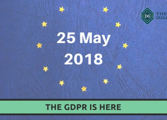 The GDPR is here