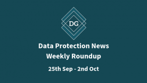 GDPR and Data Protection Weekly News
